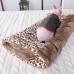 Дом - нора мешок для кошек (MM/ brown Leo )