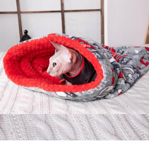 Дом - нора мешок для кошек (MM/  Hot-Lips )