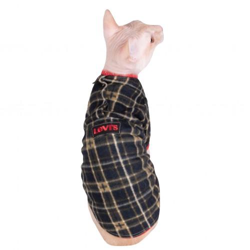 """Кофта с рукавом флисовая """"LEVVIS"""" ™Style Pets"""